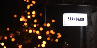 Standard Leuchtschrift