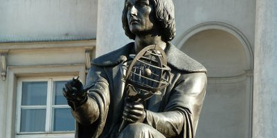 Statue von Kopernikus